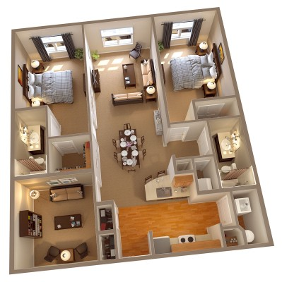 Columbia Floor Plan